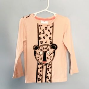 Girls Hanna Andersson Leopard Tee